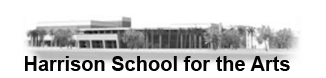 Harrison School for the Arts Logo